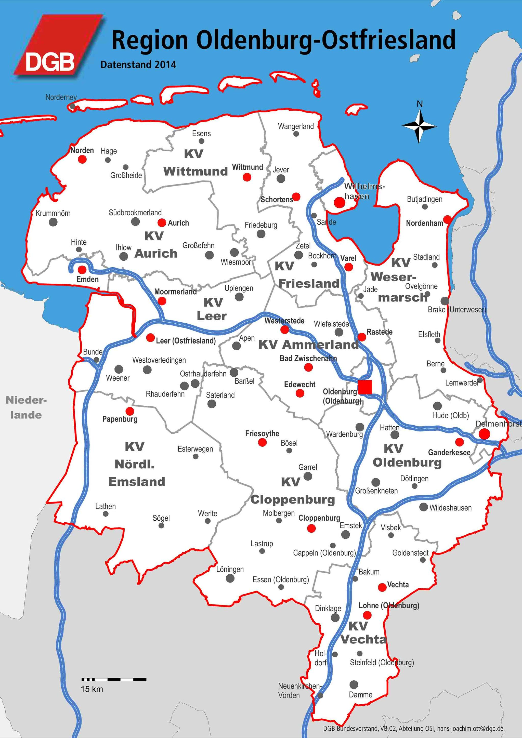 DGB Region Oldenburg-Ostfriesland