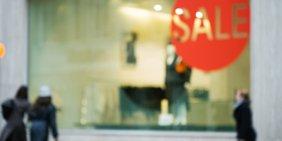 Sale im Einzelhandel