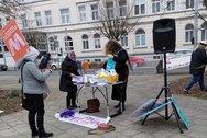 Kundgebung zum Internationalen Frauentag 2021 in Wilhelmshaven